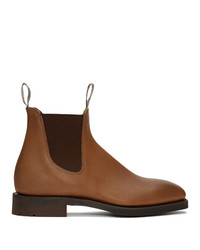 R.M. Williams Brown Lachlan Chelsea Boots
