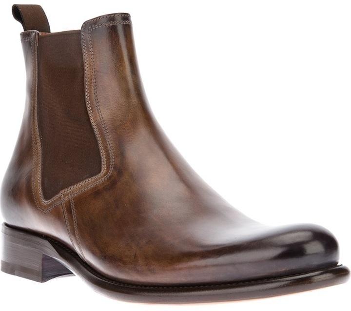 Santoni Chelsea Boot