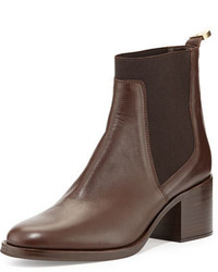 Corie leather chelsea boot dark brown medium 647890