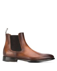 Doucal's Faded Leather Chelsea Boots