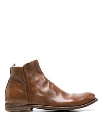 Officine Creative Journal Leather Boot