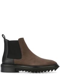 Lanvin Panelled Chelsea Boots
