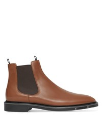 Burberry Logo Detail Chelsea Boots
