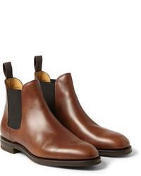 John Lobb Misty Leather Chelsea Boots