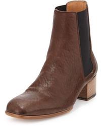 Maison Margiela Replica Leather Chelsea Boot Brown