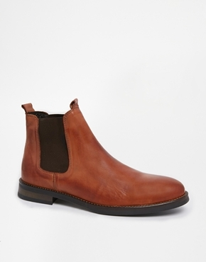 selected homme chelsea boots brown where to buy how to wear. Black Bedroom Furniture Sets. Home Design Ideas