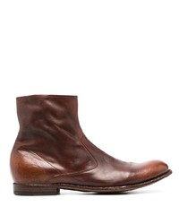Officine Creative Stereo 2 Zip Up Boots