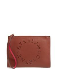 Stella McCartney Alter Faux Nappa Leather Wristlet Clutch