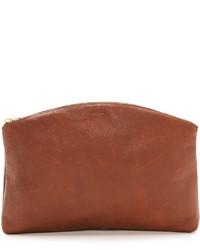 Leather clutch medium 620764