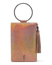 THACKE R Nolita Ring Handle Leather Clutch