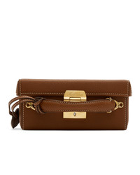 MARK CROSS Tan Grace Box Bag