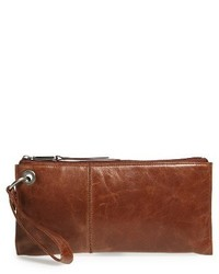 Hobo Vida Leather Clutch Black