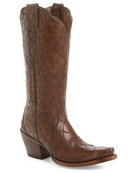 Ariat Antebellum Croc Embossed Western Boot