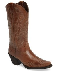 Ariat Round Up D Toe Wingtip Western Boot