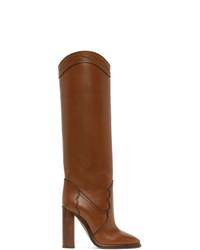 Saint Laurent Tan Kate 110 Boots