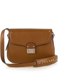 Valentino Block Lock Leather Cross Body Bag