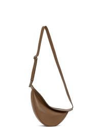 The Row Brown Small Slouchy Banana Bag