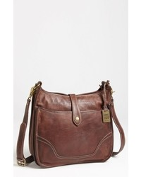Frye Campus Leather Crossbody Bag Brown