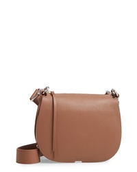 AllSaints Captain Round Leather Crossbody Bag