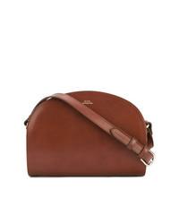 2e75c5a8999a Burberry Horseferry Chichester Leather Nylon Crossbody Bag Blue ...
