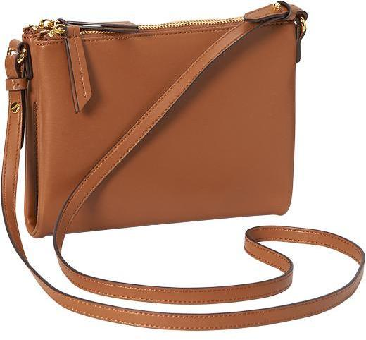 Old Navy Faux Leather Crossbody Bag