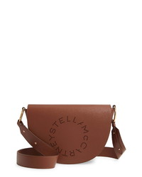 Stella McCartney Flap Faux Leather Shoulder Bag