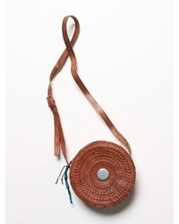 Free People Hiptipico Leather Eclipse Crossbody