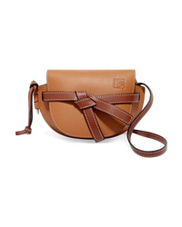 Loewe Gate Mini Textured Leather Shoulder Bag