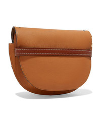 Loewe Gate Small Textured Leather Shoulder Bag