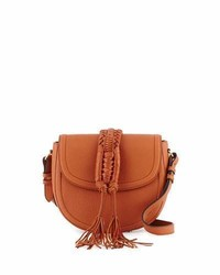 Altuzarra Ghianda Woven Knot Saddle Bag Saddle