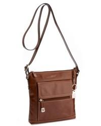 Giani Bernini Handbag Glazed Leather Crossbody Bag