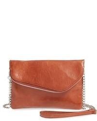 Hobo Daria Leather Crossbody Bag Black