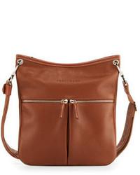 Le foulonn flat crossbody bag medium 649357