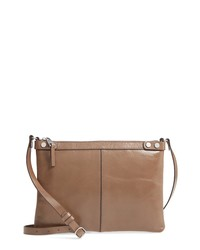 Treasure & Bond Marlow Glazed Leather Crossbody Bag