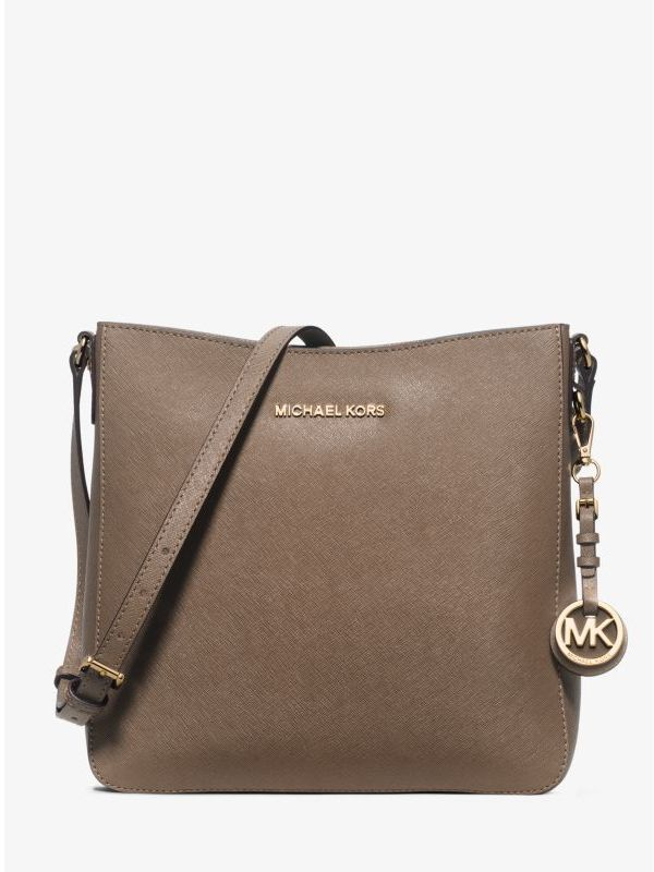cd9dbe07e Michael Kors Jet Set Travel Large Saffiano Leather Crossbody, $228 | Michael  Kors | Lookastic.com