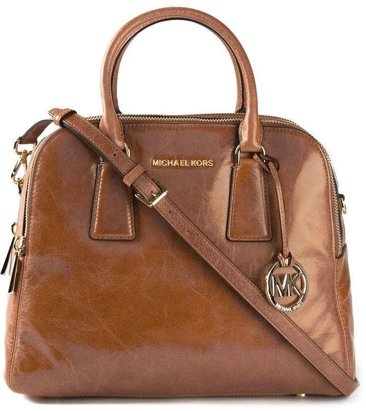 63becda52f223e ... Leather Crossbody Bags MICHAEL Michael Kors Michl Michl Kors Medium Alexis  Crossbody Bag
