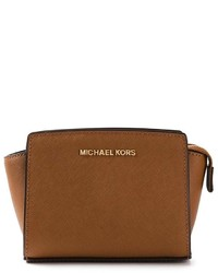 602f58c052fc Women s Brown Leather Crossbody Bags by MICHAEL Michael Kors ...