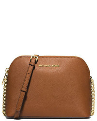 0a91d6753e12 ... MICHAEL Michael Kors Michl Michl Kors Cindy Large Dome Crossbody Bag  Luggage
