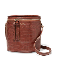 Tl-180 Mini Longue Croc Effect Leather Tote
