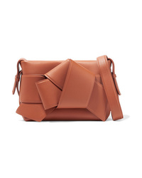 Acne Studios Musubi Knotted Leather Shoulder Bag