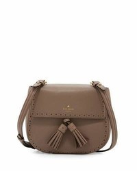 Kate Spade New York James Street Shaylee Leather Crossbody Bag Earthen Root
