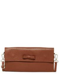 Persaman New York Erin Leather Crossbody Clutch