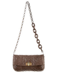 Lanvin Quilted Leather Crossbody Bag