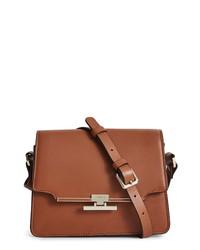 Reiss Rosa Leather Crossbody Bag