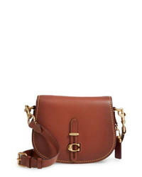 Coach Saddle 24 Leather Saddle Bag