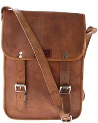 Sharo Genuine Leather Bags Cross Body Messenger Bag