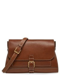 Mulberry Small Buckle Leather Shoulder Bag Brown