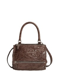 Givenchy Small Pepe Pandora Leather Shoulder Bag