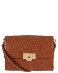 Lodis Small Stephanie Eden Leather Crossbody Bag Brown
