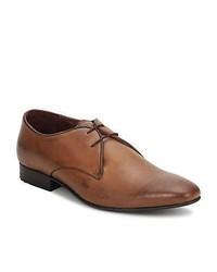 Ben Sherman Ligby Derby Tan Smart Formal Shoes